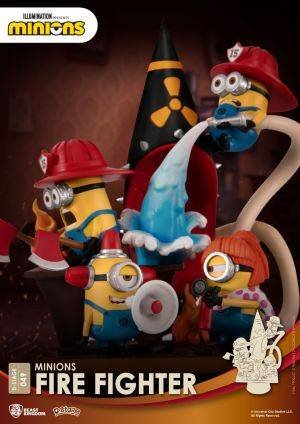 D-STAGE MINIONS FIRE FIGHTER