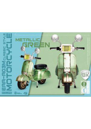 MOTORBIKE CLASSIC STYLE (METALLIC GREEN)