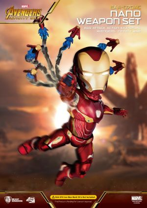 Avengers: Infinity War Iron Man Nano Weapon Set