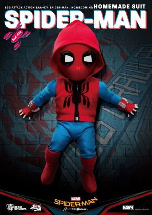 Spider-Man:Homecoming Spider-Man Homemade Suit Egg Attack Action Figure