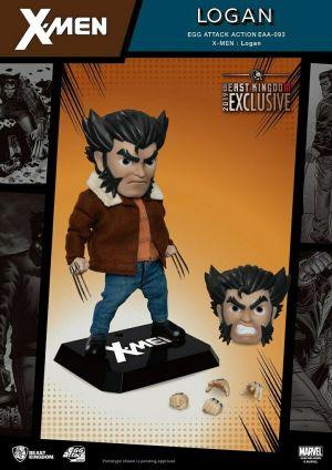 Marvel X-Men Logan Wolverine Egg Action Figure
