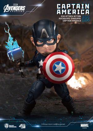 Avengers: Endgame Captain America Egg Attack Action Figure