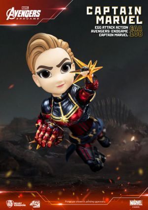 Avengers: Endgame Captain Marvel Egg Attack Action Figure