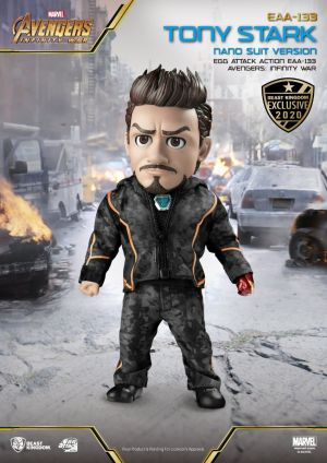 Avengers Infinity War Tony Stark Nano Suit Version