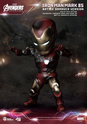 Avengers:Endgame Iron Man Mark 85 Battle Damaged Version