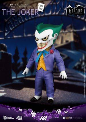 Batman The Animated Series - The Joker Egg Attack Action Figure