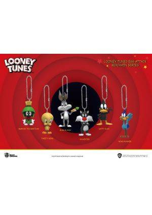 KC-006 Looney Tunes Egg Attack Keychain Series Blind box set