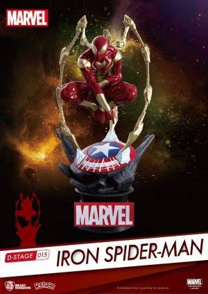 Marvel Avengers: Diorama Stage - Iron Spider-Man