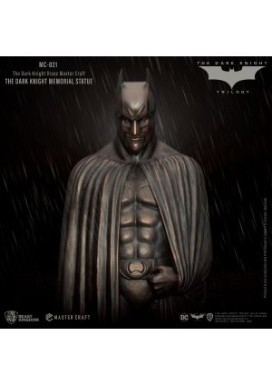 THE DARK KNIGHT RISES MASTER CRAFT THE DARK KNIGHT MEMORIAL STATUE