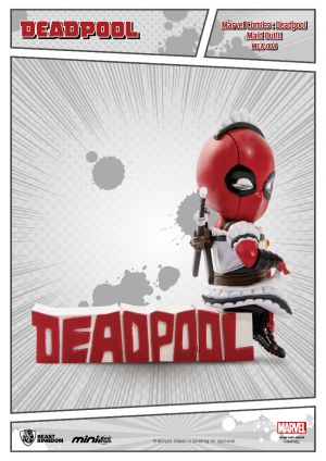 Marvel Comics: Mini Egg Attack - Deadpool Maid Outfit