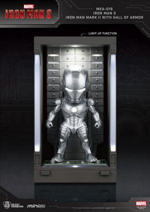 Iron Man 3 /Iron Man Mark II with Hall of Armor