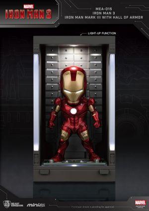 Iron Man 3 /Iron Man Mark III with Hall of Armor
