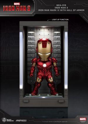 Iron Man 3 /Iron Man Mark IV with Hall of Armor