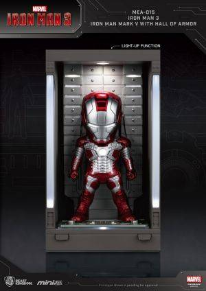 Iron Man 3 /Iron Man Mark V with Hall of Armor