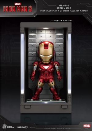 Iron Man 3 /Iron Man Mark VI with Hall of Armor