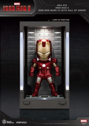 Iron Man 3 /Iron Man Mark VII with Hall of Armor