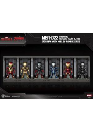 Iron Man 3 Avengers:Age of Ultron Hall of Armor series
