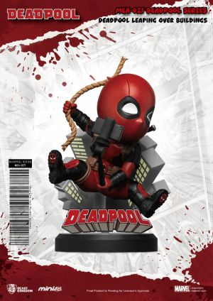 MEA-027_D Deadpool series Deadpool Leaping over buildings