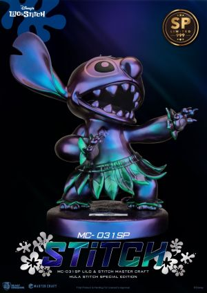 MC-031SP Lilo & Stitch Master Craft Hula Stitch Special Edition