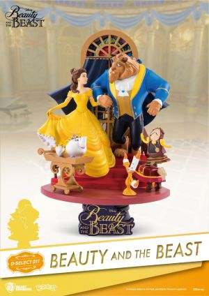 Disney Diorama Stage - Beauty and the Beast