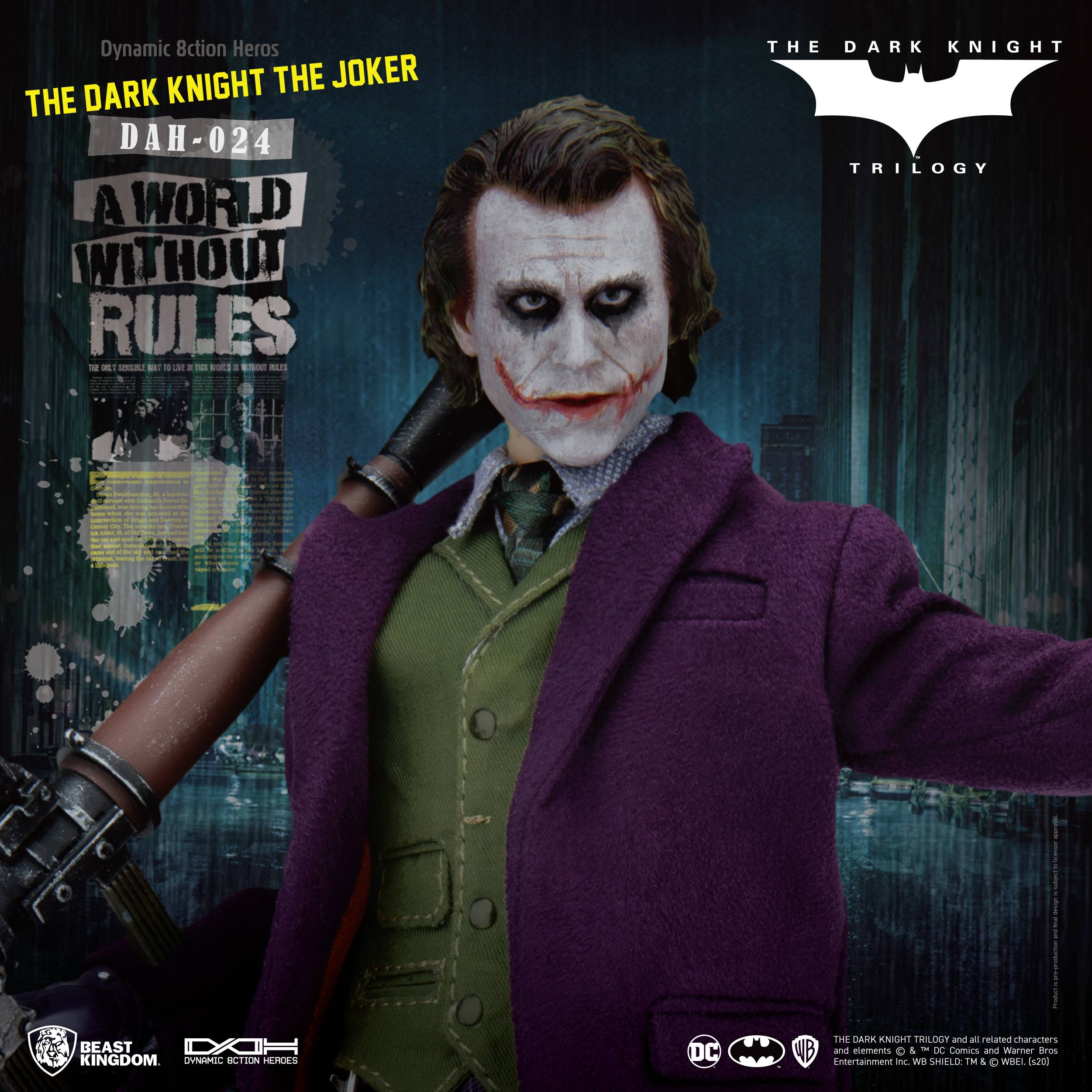 The Joker: Mindless anarchist or a product of society?